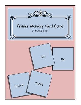 Primer Memory Card Game