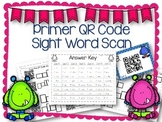 QR Code Literacy Center & Write the Room Activity: Primer
