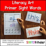 Primer Sight Word Art