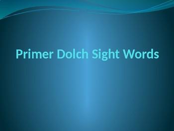 Primer Sight Word Assessment