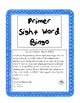 Primer Sight Word Bingo