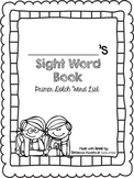 Primer Sight Word Book (Dolch)