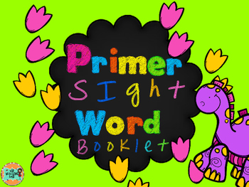 Primer Sight Word Booklet-Dollar Deal
