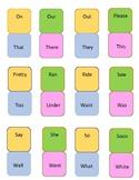 Primer Sight Word Dominoes
