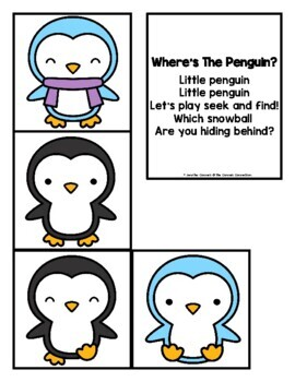 Primer Sight Word Game Winter Themed