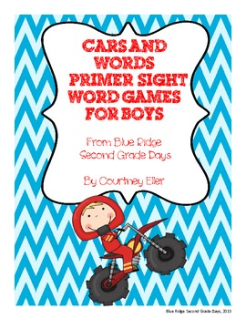 Primer Sight Word Games For Boys