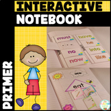 Sight Word Interactive Notebook Bundle: Primer