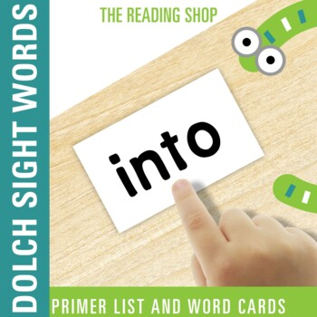 Dolch Primer Sight Word List and Word Cards