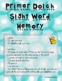 Primer Sight Word Memory