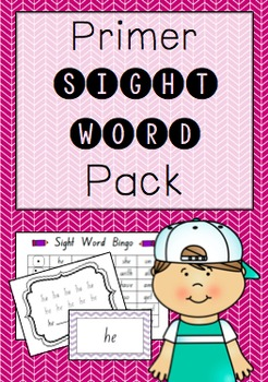 """Primer"" Sight Word Pack"