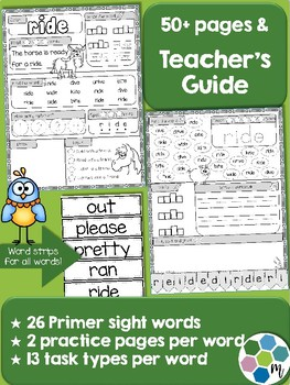 Primer Sight Word Practice 2
