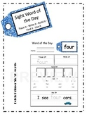 Primer Sight Word Practice