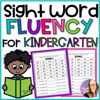 Sight Word Fluency Practice- Primer (Kindergarten)