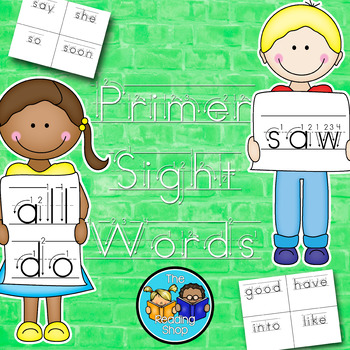 Dolch Primer Sight Words Handwriting