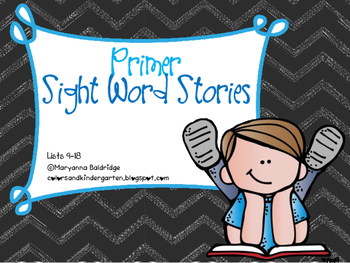 Primer Sight Word Readers