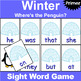 Primer Sight Word Recognition Games Bundle for All Seasons