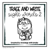 Primer Sight Word Trace and Write Practice