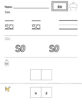 Primer Sight Word Unit