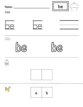 Primer Sight Word Unit