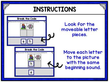 Primer Sight Words Break the Code Digital Resource for Google Drive