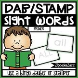 Primer Sight Words Dab Stamper Center