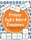 Primer Sight Words Dominoes