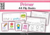 Sight Word Fluency Flip Books (Primer)