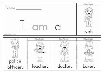Sight Word Fluency Flip Books (Primer)