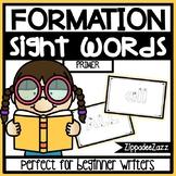 Primer Sight Words Letter Formation Center