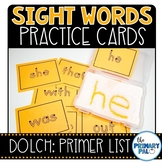 Primer Sight Words Cards