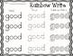 Primer Sight Words Rainbow Write