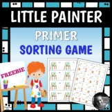 Primer Sight Words -- Sorting Game