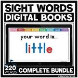 Primer Sight Words for Google Slides™