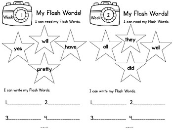 Sight Words  Kindergarten Primer