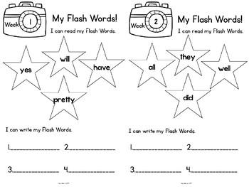Sight Words  Kindergarten Primer