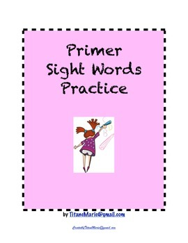 Primer Sight Words:Practice
