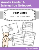 Primer Weekly Reader and Notebook - Polar Bears