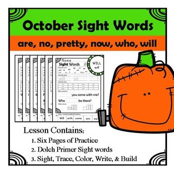 Primer List Sight Words