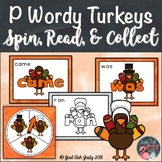 Primer Wordy Turkeys Sight Word Game
