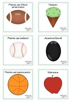 Spanish Speech Therapy Early Categorizing