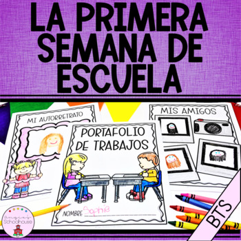 The First Week of School Bilingual Bundle