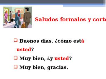 Primera lección de español