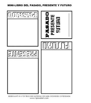 Primeros Libritos - Story Starter Flip Booklets in Spanish