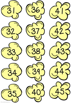Primes, Squares and Multiples Sorting Activity