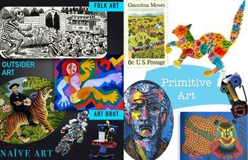 Primitive Art ~ Naive Outsider Folk Art Brut ~ Art History