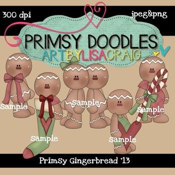Primsy Gingers 300 dpi Clipart