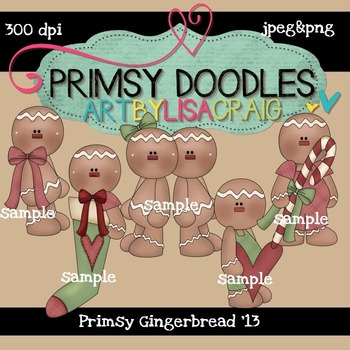 Primsy Gingers 300 dpi Clipart