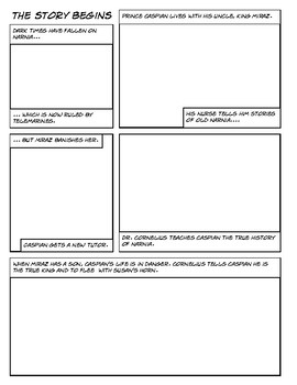 Prince Caspian - Draw Your Own Comic / Graphic Novel