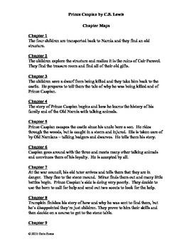 Prince Caspian by C.S. Lewis Lit Circle Lesson Plans