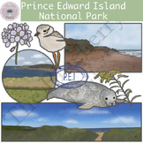Prince Edward Island National Park Clipart Set